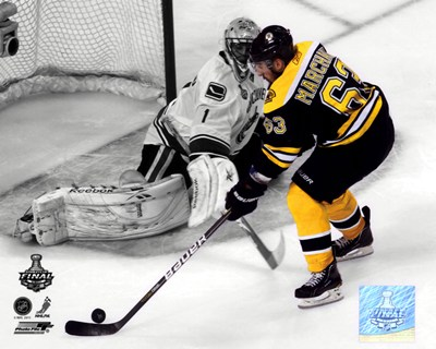 Brad Marchand Game 3 of the 2011 NHL Stanley Cup Finals Spotlight Action Poster by Unknown for $20.00 CAD