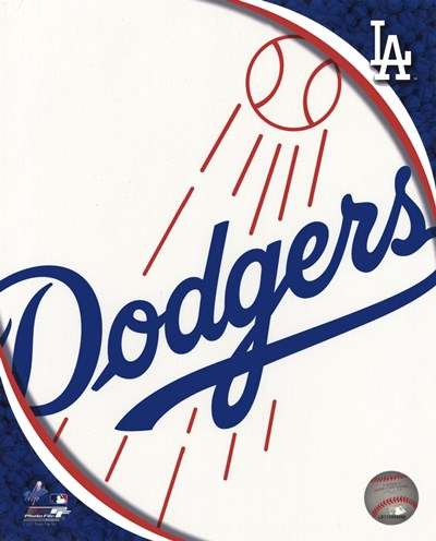 2011 Los Angeles Dodgers Team Logo Poster by Unknown for $21.25 CAD