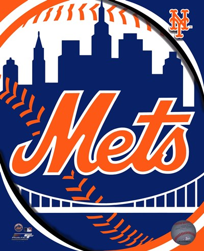 2011 New York Mets Team Logo Poster by Unknown for $21.25 CAD