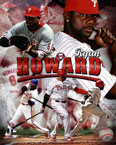 Ryan Howard 2011 Portrait Plus Poster by Unknown for $21.25 CAD