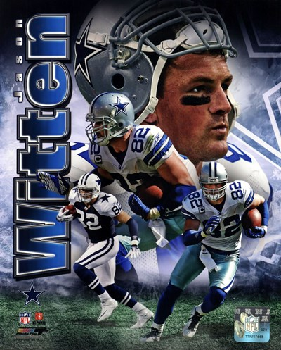 Jason Witten 2011 Portrait Plus Poster by Unknown for $21.25 CAD