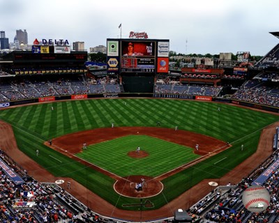 Turner Field 2012 Poster by Unknown for $21.25 CAD
