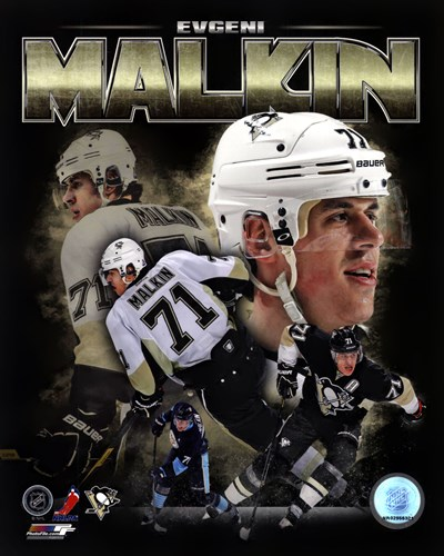 Evgeni Malkin 2013 Portrait Plus Poster by Unknown for $21.25 CAD