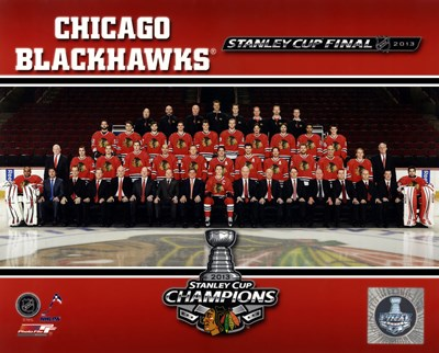 Chicago Blackhawks 2013 NHL Stanley Cup Champions Poster by Unknown for $21.25 CAD