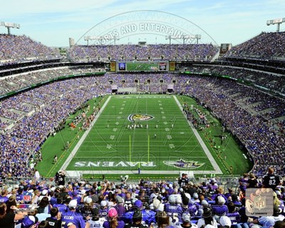 M&T Bank Stadium 2013 Poster by Unknown for $21.25 CAD