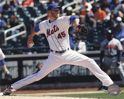 Zack Wheeler Pitching Baseball Poster by Unknown for $21.25 CAD
