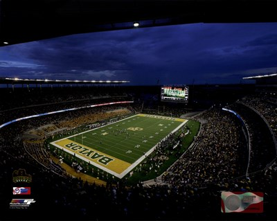 McLane Stadium Baylor University Bears 2014 Poster by Unknown for $13.75 CAD