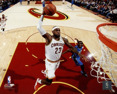 LeBron James 2014-15 slam dunk Poster by Unknown for $13.75 CAD
