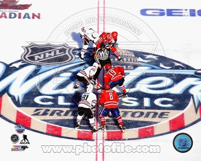 2015 NHL Winter Classic Opening Faceoff Poster by Unknown for $13.75 CAD