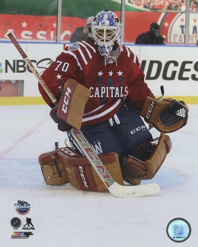 Braden Holtby 2015 NHL Winter Classic Action Poster by Unknown for $13.75 CAD