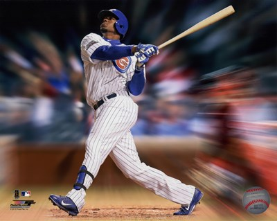 Jorge Soler Motion Blast Poster by Unknown for $13.75 CAD