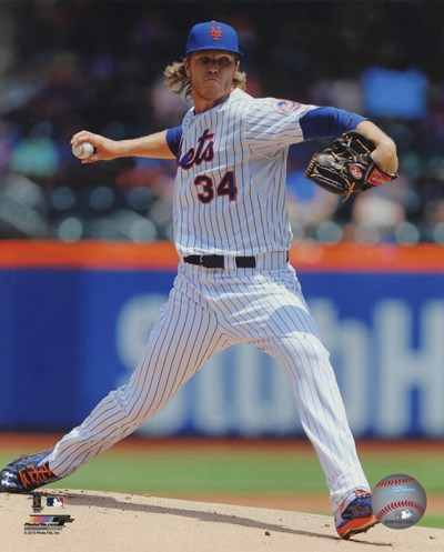 Noah Syndergaard 2015 Action Poster by Unknown for $13.75 CAD