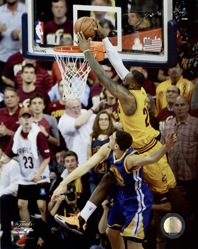LeBron James Game 3 of the 2015 NBA Finals Poster by Unknown for $13.75 CAD