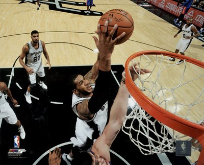 LaMarcus Aldridge 2015-16 Action Poster by Unknown for $13.75 CAD