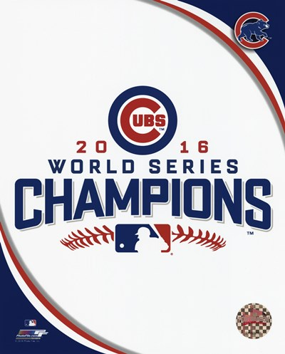 Chicago Cubs 2016 World Series Champions Logo Poster by Unknown for $13.75 CAD