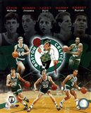 Boston Celtics Big Five Legends Composite