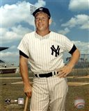 Mickey Mantle - #1 Leaning on Bat