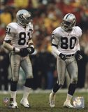Tim Brown & Jerry Rice