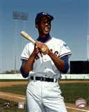Ernie Banks - Bat on shoulder, posed