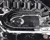 Polo Grounds - Aerial view, sepia