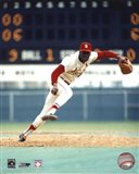 Bob Gibson - Pitching Action On The Field