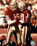 Jerry Rice / Joe Montana - Group Shot  (#2)