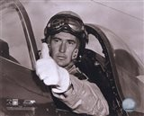 Ted Williams - Fighter Pilot (sepia)