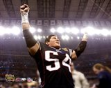 Tedy Bruschi - Super Bowl XXXVIII Celebration