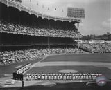 Yankee Stadium Left Field - 1955 World Series Opening Game