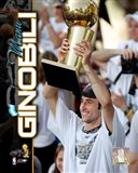 Manu Ginobili 2005 - NBA Championship With Trophy Composite (#12)