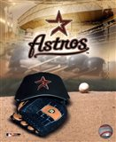 Houston Astros - '05 Logo / Cap and Glove