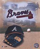 Atlanta Braves - '05 Logo / Cap and Glove
