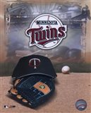 Minnesota Twins - '05 Logo / Cap and Glove