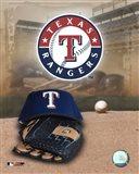 Texas Rangers - '05 Logo / Cap and Glove