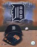 Detroit Tigers - '05 Logo / Cap and Glove
