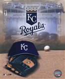 Kansas City Royals - '05 Logo / Cap and Glove