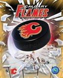 Calgary Flames 2005 - Logo / Puck