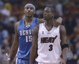 Carmelo Anthony / Dwyane Wade '05 / '06 Action