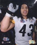 SB XL (#16) - Troy Polamalu / Celebrate