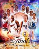 NBA - 2006 Finals Match-Up Heat Vs. Mavericks