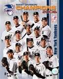 2006 - Yankees East Division Champs Team Composite