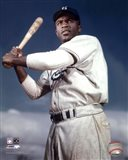 Jackie Robinson - 1953 Posed Batting