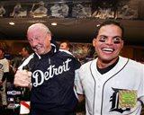 Al Kaline & Ivan Rodriguez - 2006 ALDS Game 4 Celebration