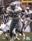 Ed Too Tall Jones 1985 Action