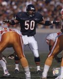 Mike Singletary - 1992 Action