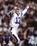Jim Kelly Super - Bowl XXV 1991 Action