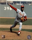 Bob Gibson - Pitching Action Cardinals