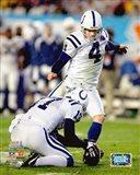Adam Vinatieri Super Bowl XLI Action (#6)