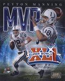 Peyton Manning - '06 SuperBowl XLI MVP Portrait Plus
