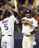Jose Reyes / David Wright - 2007 Celebration Group Shot
